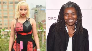 Nicki Minaj and Tracy Chapman