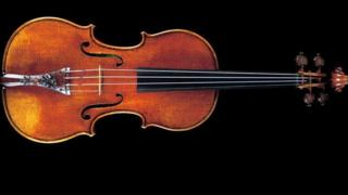 Image showing Stradivarius violin