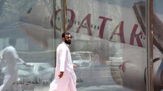 サウジアラビアとバーレーン、エジプト、アラブ首長国連邦は先月、カタールとの国交断絶を表明した