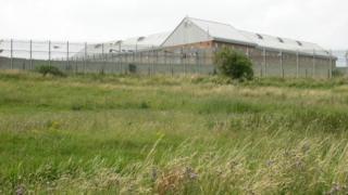 Wellingborough Prison in 2005.