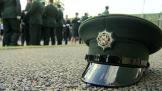 PSNI officer at graduation ceremony