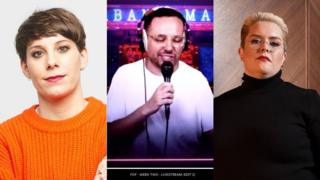 Suzi Ruffell, Abandoman and Jayde Adams