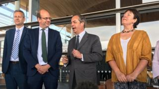 Group of four  Brexit Party: Nigel Farage says four AMs to form group  106970938 mediaitem106970937
