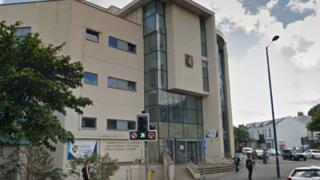 University of Wales Trinity Saint David campus in Swansea