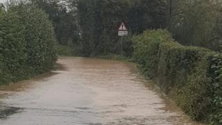 Flooding in Shrewsbury Rural West area