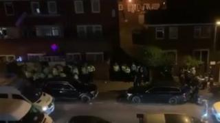 Met Police at a gathering