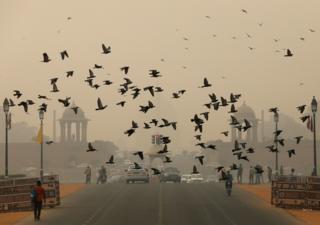 смог в Индии, 31.10.19
