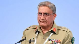 पाकिस्तान के सेना प्रमुख जनरल क़मर जावेद बाजवा