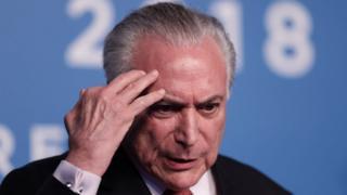 Former Brazilian President Michel Temer