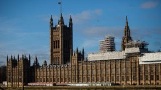 Здание британского парламента
