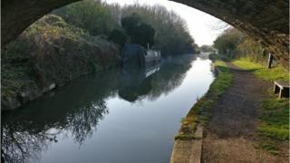 Canal in Wolvercote