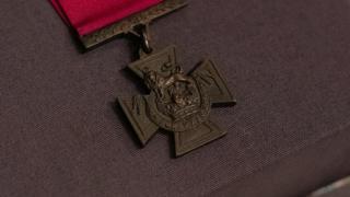 Guy Gibson's rarely seen Victoria Cross