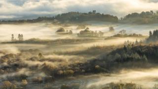 Озерный край в тумане