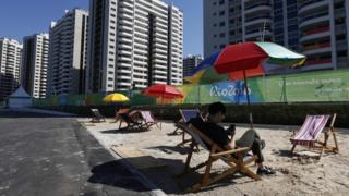 Vila Olímpica no Rio