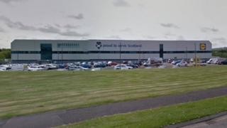 Lidl warehouse
