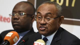 Le président de la CAF, Ahmad