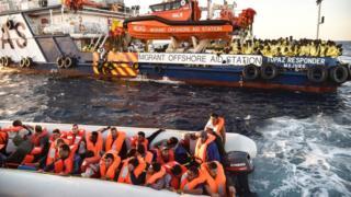 الداخلية الألمانية تقول إن إقناع المهاجرين باستحالة وصولهم إلى الساحل الأوروبي، ربما يجعلهم يتجنبون القيام بهذه الرحلة