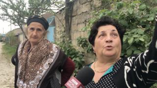 Xaçmaz rayonunun Müşkür kəndinin sakinləri