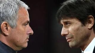 Mourinho da Conte sun yi cacar-baki