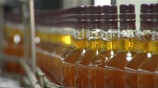 Whisky bottling line