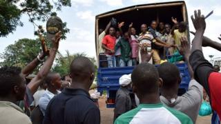 En 2015, des milliers de personnes ont été arrêtés dans des manifestations contre le président Nkurunziza.