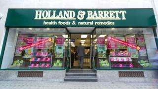 Holland & Barrett store