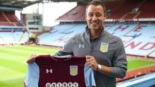 John Terry, au moment de la conférence de presse à Aston Villa