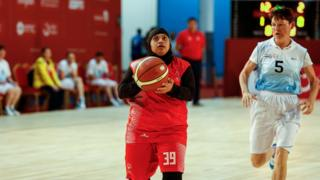 UAE basketball team fights Kazakhstan during Special Olympics World Games in Abu Dhabi