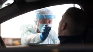 Coronavirus testing in Northern Ireland