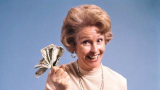 Жінка з грошима