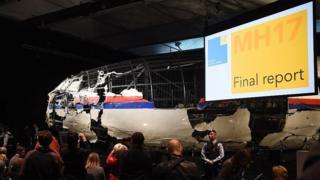 Обломки рейса МН17