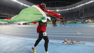 Francine Niyonsaba yatsindiye umudali w'ifeza nk'uwo yari yaronse mu nkino za Olympique za Rio de Janeiro mu gihugu ca Brésil