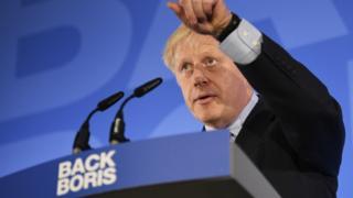 Boris Johnson launches his Tory leadership campaign
