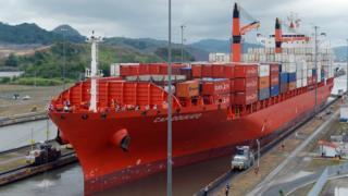 Barco en Panamá