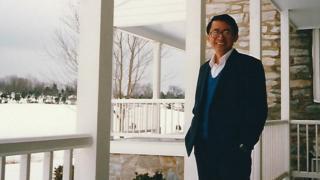 1988年张宪义到达美国
