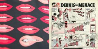 Holly Fulton dress / Dennis the Menace