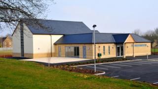 The new Upper Rissington village hall