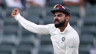 India captain Virat Kohli celebrates