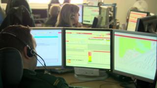 Belfast Ambulance call centre
