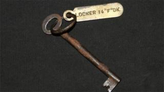 Small key for locker on the Titanic
