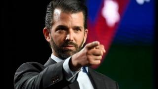coronavirus stock Donald Trump Jr. speaks at the Western Conservative Summit at the Colorado Convention Center July 12, 2019