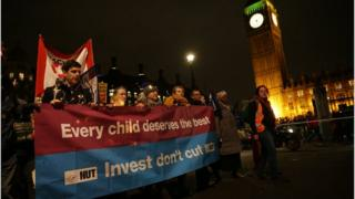 An NUT march in London last year