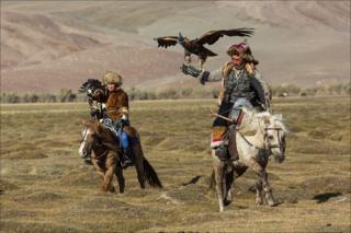 Охота с золотым орлом