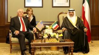 Tillerson ve Kuveyt Dışişleri Bakanı