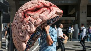 Бразилия, телефонная будка - мозг