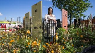 Gardener Juliet Sargeant at Chelsea Flower Show