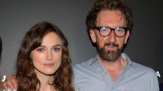 Keira Knightley and John Carney
