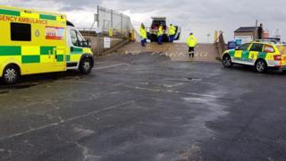 HM Coastguard Southend rescue children 'up to their necks in water' thumbnail