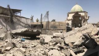 разрушенная мечеть ан-Нури