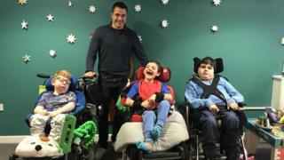 Alex Grove at Acorns Children's Hospice in Worcester